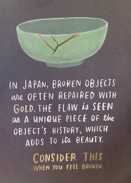 broken objects